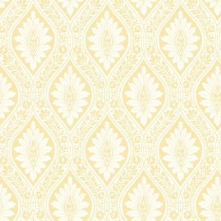 Cole & Son Florence Wallpaper Roll - Lemon For Sale
