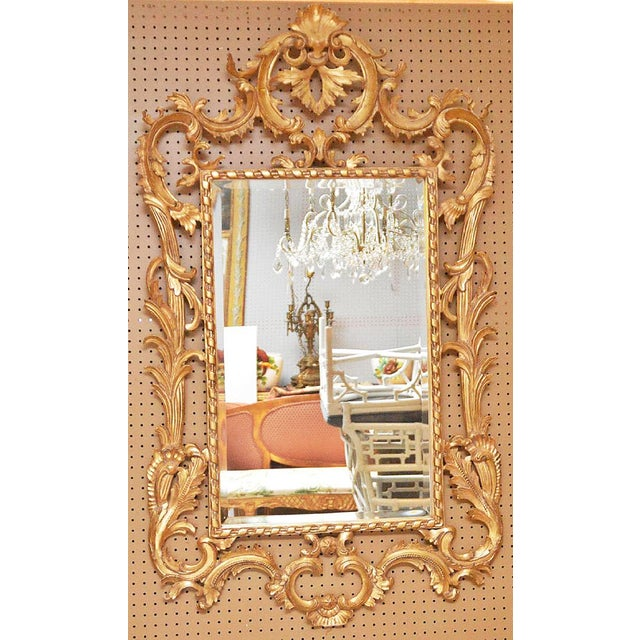 Rococo Style Giltwood Mirror - Image 2 of 3