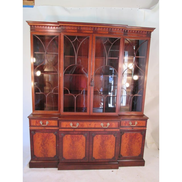 1940s Vintage China Cabinet by Schmieg and Kotzian For Sale - Image 13 of 13