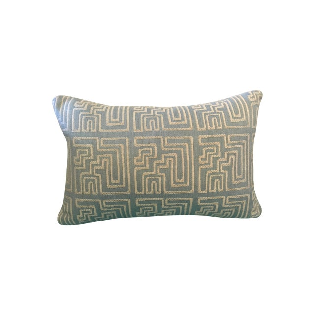 Contemporary Geometric Pillow - Image 1 of 3