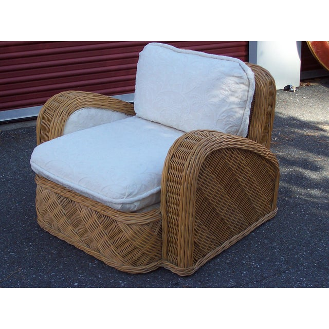 This a Jay Spectre lounge chair from the mid-80's in pristine condition. Originally sold for $1500.00.