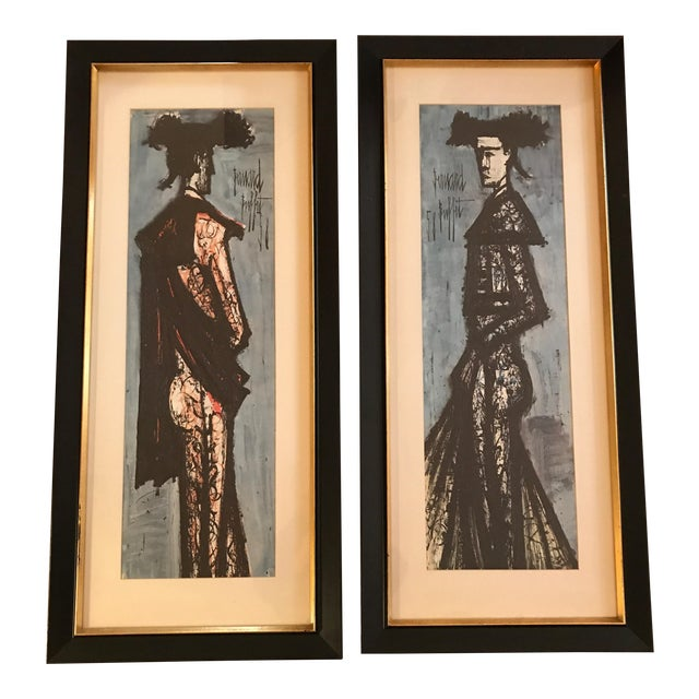 Phenomenal Bernard Buffet Matador Framed Prints A Pair Download Free Architecture Designs Lectubocepmadebymaigaardcom
