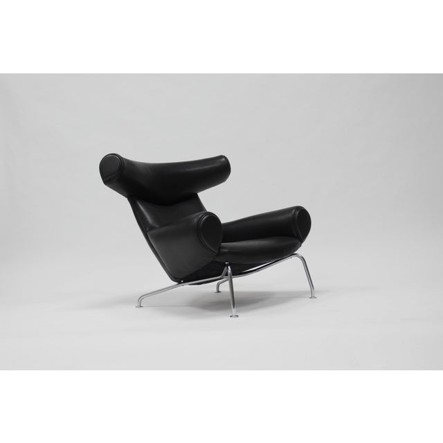 Mid-Century Modern Early Ox Lounge Chair by Hans Wegner for a.p. Stolen For Sale - Image 3 of 11