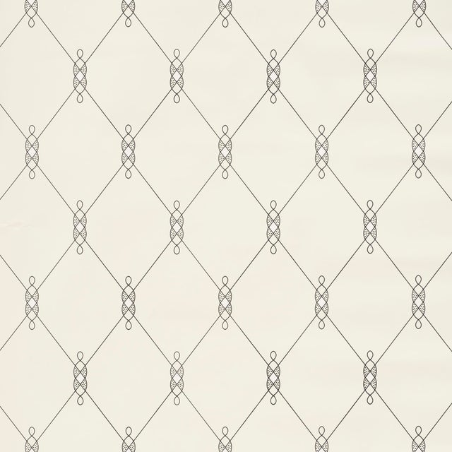 Schumacher Sample - Schumacher X David Oliver Diso Wallpaper in Parchment For Sale - Image 4 of 4