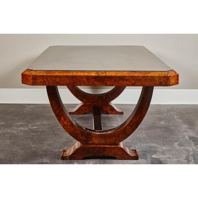 Art Deco Early 20th C. French Colonial Art Deco Dining Table For Sale - Image 3 of 11