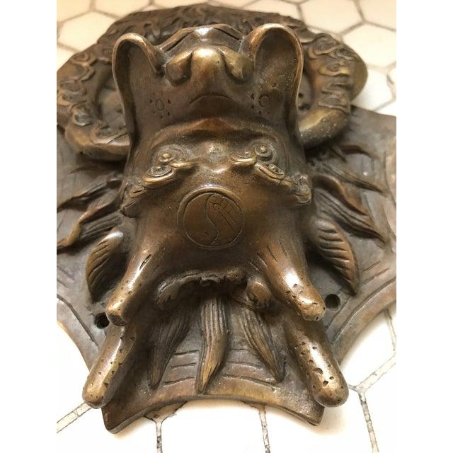 Asian Dragon Brass Door Knocker - Image 10 of 10