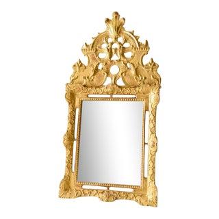 French Regency Period Glitwood Wedding Mirror For Sale