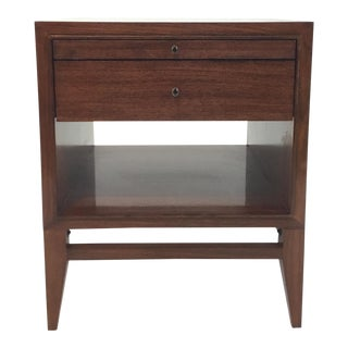 Barbara Barry for Henredon Modern Button Up Nightstand For Sale