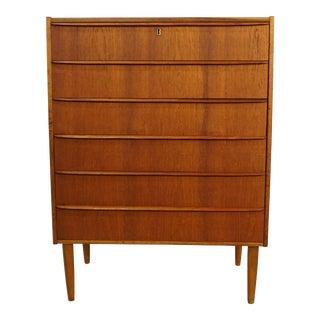 Original Danish Mid Century Teak Dresser