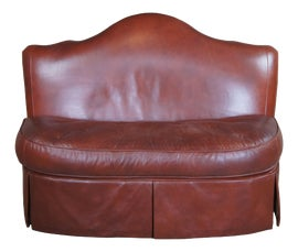 Image of Leather Loveseats