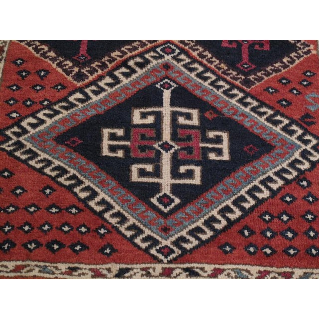 Antique Kurdish Long Rug For Sale In New York - Image 6 of 9