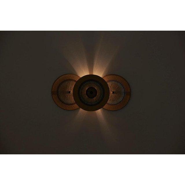 Set of 15 Ceramic Wall Lights by Noomi Backhausen & Poul Brandborg for Søholm For Sale - Image 10 of 11