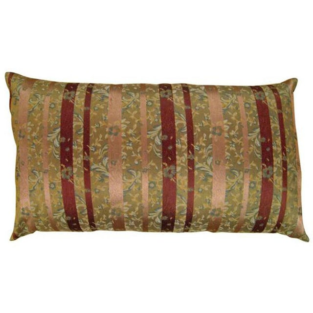Textile Vintage Chinoiserie Pillows - a Pair For Sale - Image 7 of 10