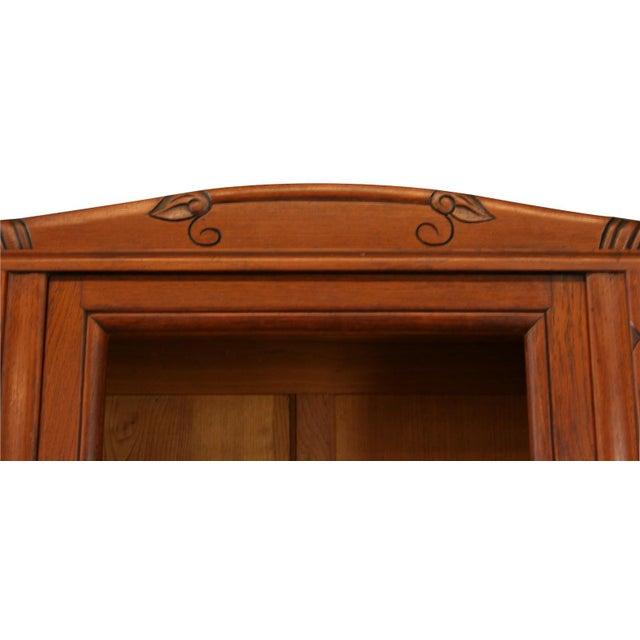 1920s Antique Art Deco Oak Buffet For Sale - Image 4 of 8