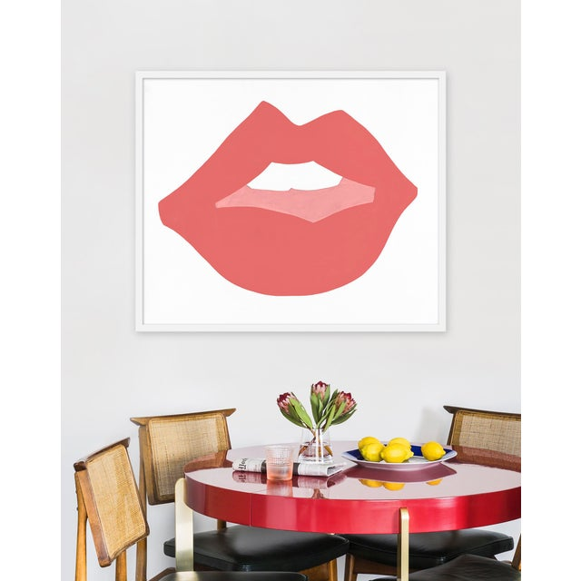 Giclée on textured fine art paper with white frame. Unframed size is 35.75 x 29.75. Angela Chrusciaki Blehm is a Georgia...