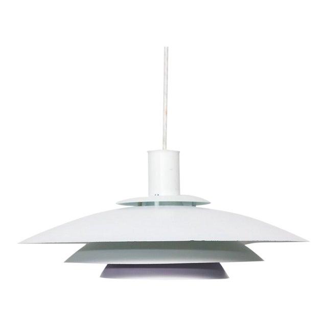 Form Light Danish White/Lilac Pendant Lamp - Image 1 of 6