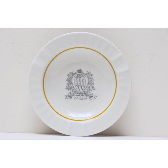 Ristorante San Marino Porcelain Ashtray - Image 2 of 6