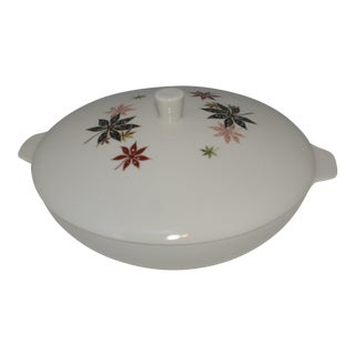 Peter Terris for Shenango China Mid Century Modern Covered Casserole Bowl