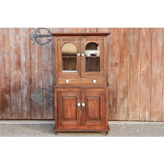 Antique Indo-Dutch Hutch Cabinet Preview
