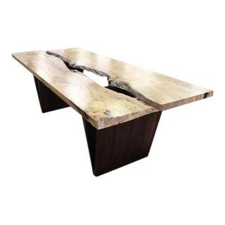 Ash Hardwood Rectangular Conference Table
