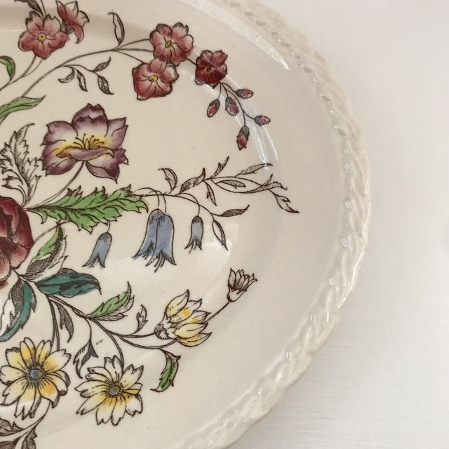 """American Classical 1940s American Classical Vernon Kilns """"Mayflower"""" Platter For Sale - Image 3 of 9"""