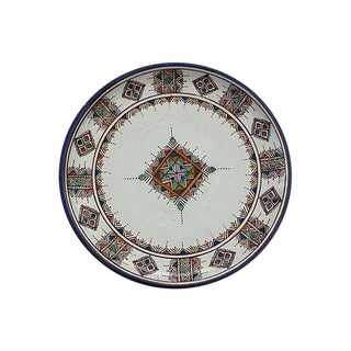 Moroccan Ceramic Plate For Sale