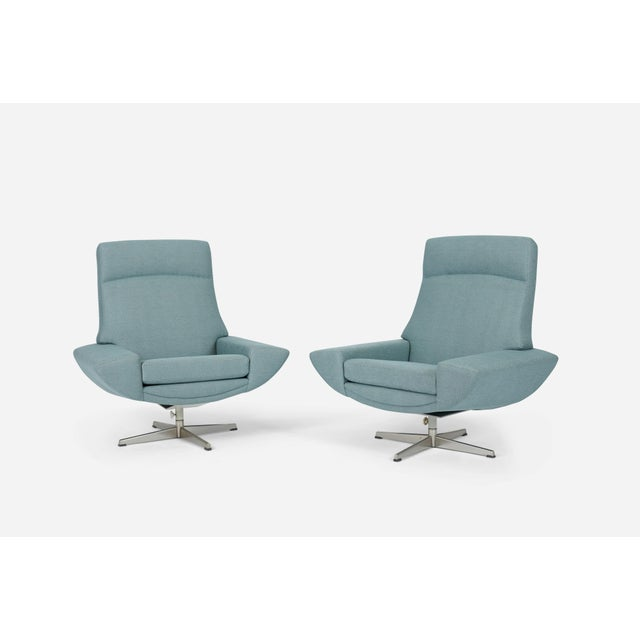Mid-Century Modern Capri Swivel Chairs by Johannes Andersen for Trensum, 1958 For Sale - Image 3 of 7