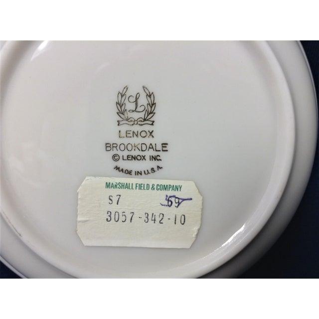 Lenox 1990s Traditional Lenox Brookdale Desert/Fruit Bowls - Set of 8 For Sale - Image 4 of 5