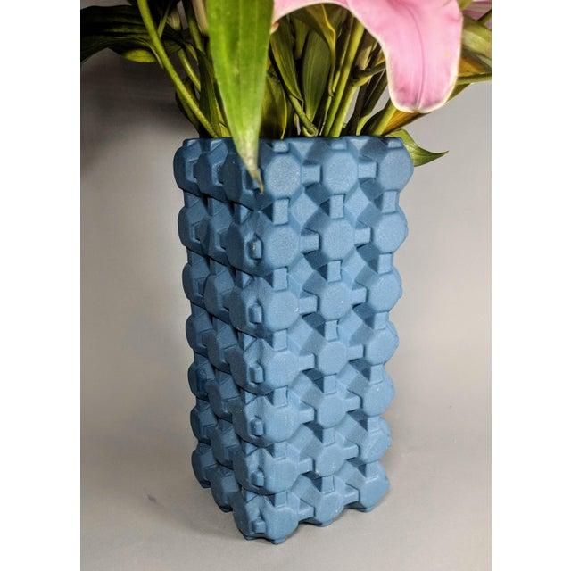 Tom Dixon Grid Vase For Sale - Image 9 of 13