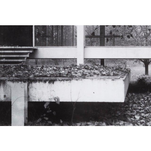 "Modern ""Farnsworth House Early Decline #2"" Photograph by Jim Zanzi For Sale - Image 3 of 6"