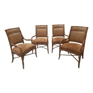 Kreiss Rattan Chairs - Set of 4 For Sale