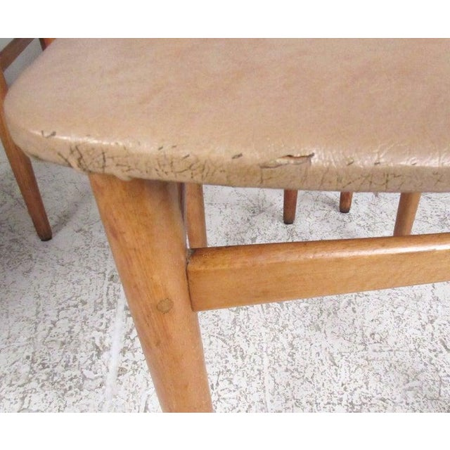 Set of Mid-Century Modern Bentwood Dining Chairs For Sale In New York - Image 6 of 9