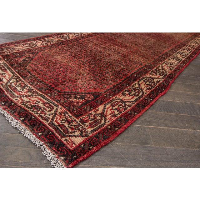 "Apadana - Vintage Persian Hamadan Rug, 2'7"" x 16' - Image 4 of 6"