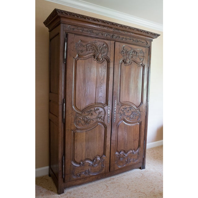 French Oak Armoire from Normandy - Image 2 of 10