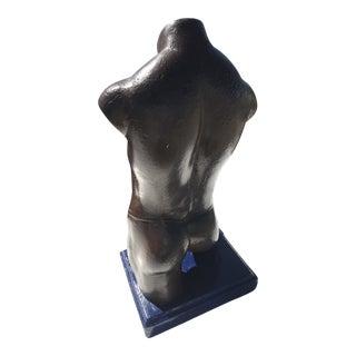 Mid-Century Modern Plaster Bust For Sale