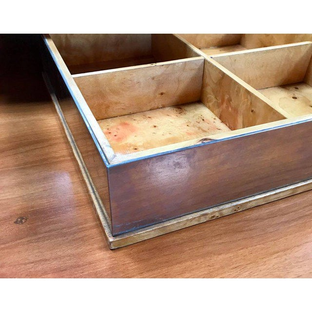 Tommaso Barbi 1960 Jewelry Box in Birch For Sale In Los Angeles - Image 6 of 8