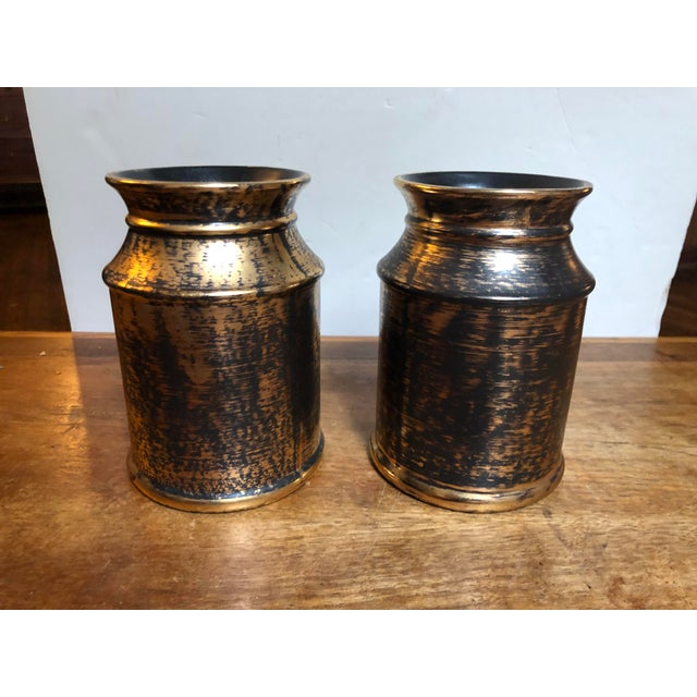Vintage Mid Century Modern Stangyl Pottery - a Pair For Sale In Philadelphia - Image 6 of 12