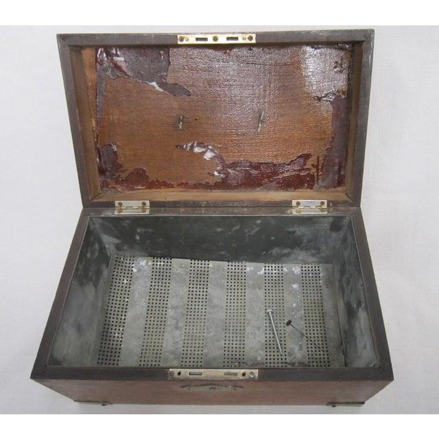 Walnut Humidor Box For Sale - Image 4 of 6