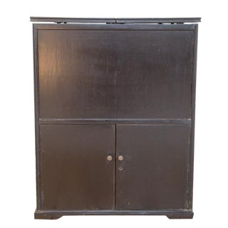 Prohibition Era Antique Hidden Bar Bureau For Sale