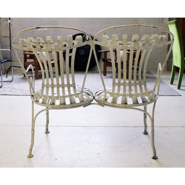 Art Deco Art Deco Garden Bench For Sale - Image 3 of 6