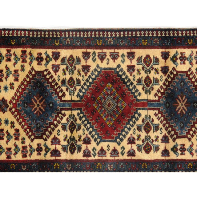 "Islamic Traditional Pasargad N Y Persian Yalameh Rug - 2'1"" X 3'5"" For Sale - Image 3 of 4"