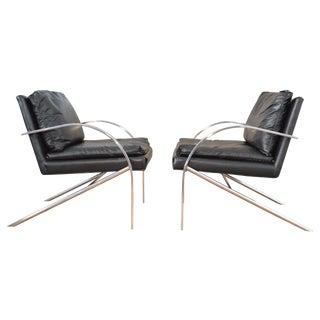 Paul Tuttle Arco Chairs - A Pair