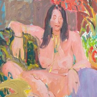 Victor DI Gesu Seated Nude in Interior Preview