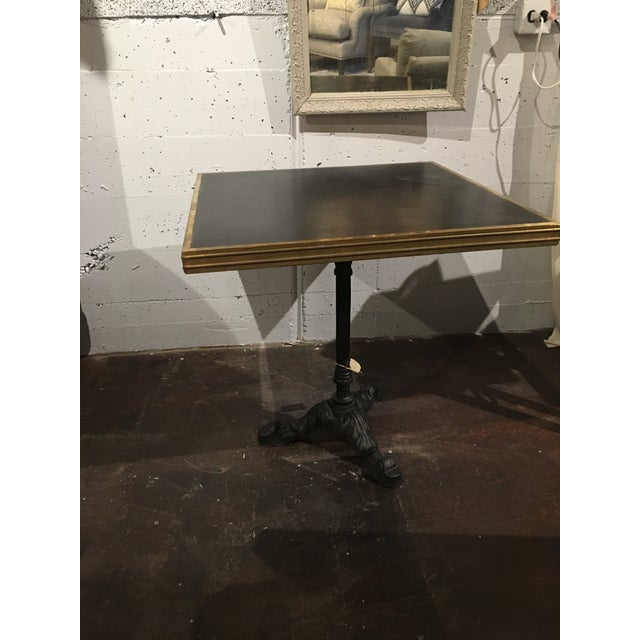 Vintage French Bistro Table For Sale In Denver - Image 6 of 13