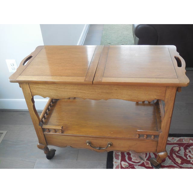 1940s Thomasville Sideboard Cart - Image 2 of 5