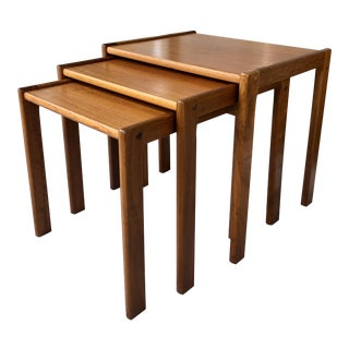 Set of 3 Danish Nesting Tables For Sale