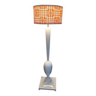 Christopher Guy Lac Swan Floor Lamp For Sale