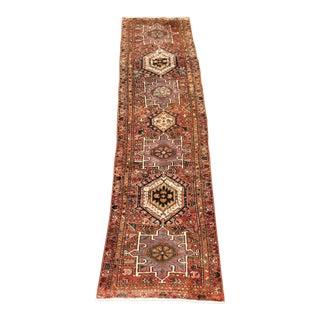 Vintage Persian Karajeh Runner - 2′10″ × 10′7″