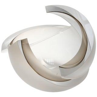Anna Torfs Armadillo Sphere Glass Sculptural Vase For Sale