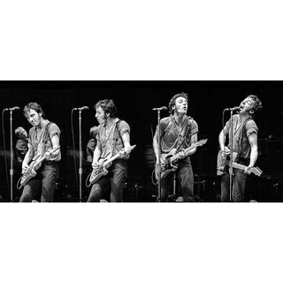 1978 Prove It All Night Quadriptych Panoramic Giclee Image For Sale
